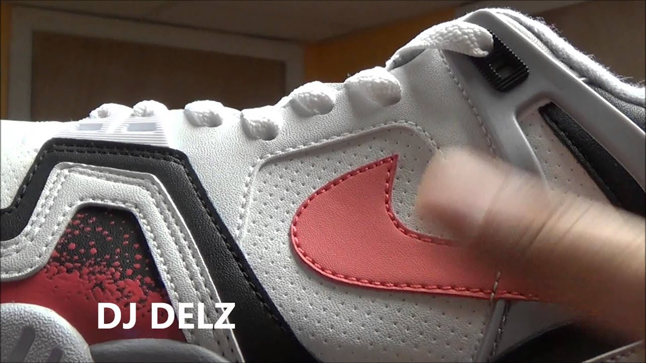 2014 Nike Air Tech Challenge II Hot Lava Agassi Sneaker Review With Dj Delz @DjDelz