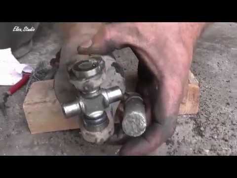 Как поменять крестовину на ваз 2107