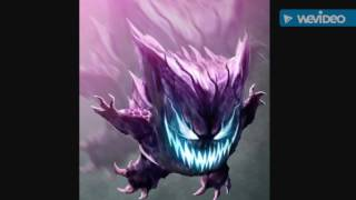 Gengar tribute (Song by Skillet Feel Invincible)