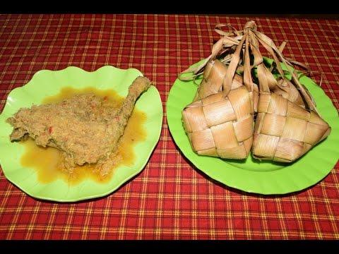Ketupat Lodoh Kuliner Khas Banyuwangi 2016 Youtube