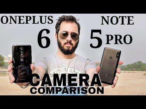 Oneplus 6 vs Redmi Note 5 Pro Camera Comparison| Oneplus 6 Camera Review