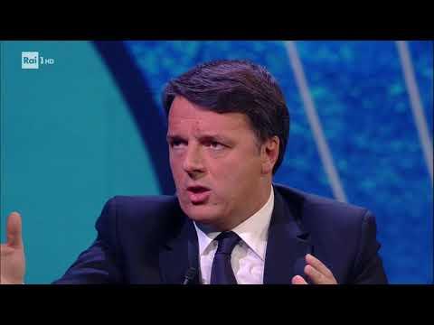 Matteo Renzi - Che tempo che fa 03/01/2017