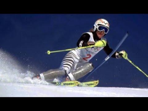 Hilde Gerg Olympic slalom gold (Nagano 1998)