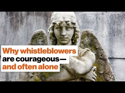Why whistleblowing is the loneliest and most courageous act in the world | Alice Dreger