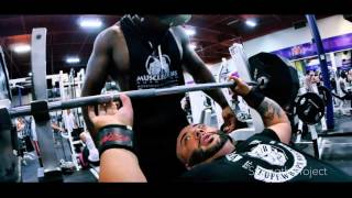 INCLINE BENCH INSANITY!!!! 600+lbs Feat Leroy Walker