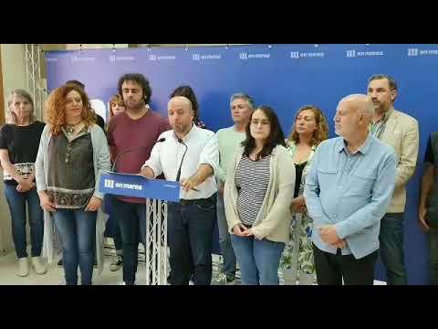 Así anunciou Villares a ruptura de En Marea