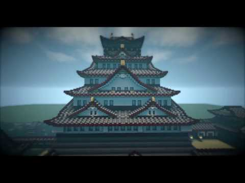 minecraftsalted fish japanese castle