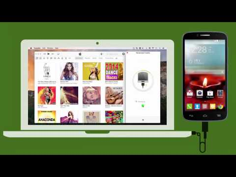 Android: How to Sync iTunes Music to Alcatel OneTouch Fierce 2 on Mac ?