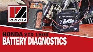Troubleshooting Motorcycle Battery Problems | Honda VTX 1800 | Partzilla.com