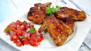Orientalne skrzydełka z kurczaka - Jak zrobić - Smakowite Dania