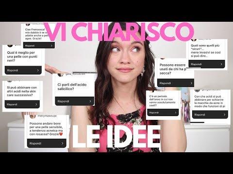 Acidi Nella Skincare | Acido Salicilico, Acido Glicolico E tutto Quello Che Devi Sapere!!