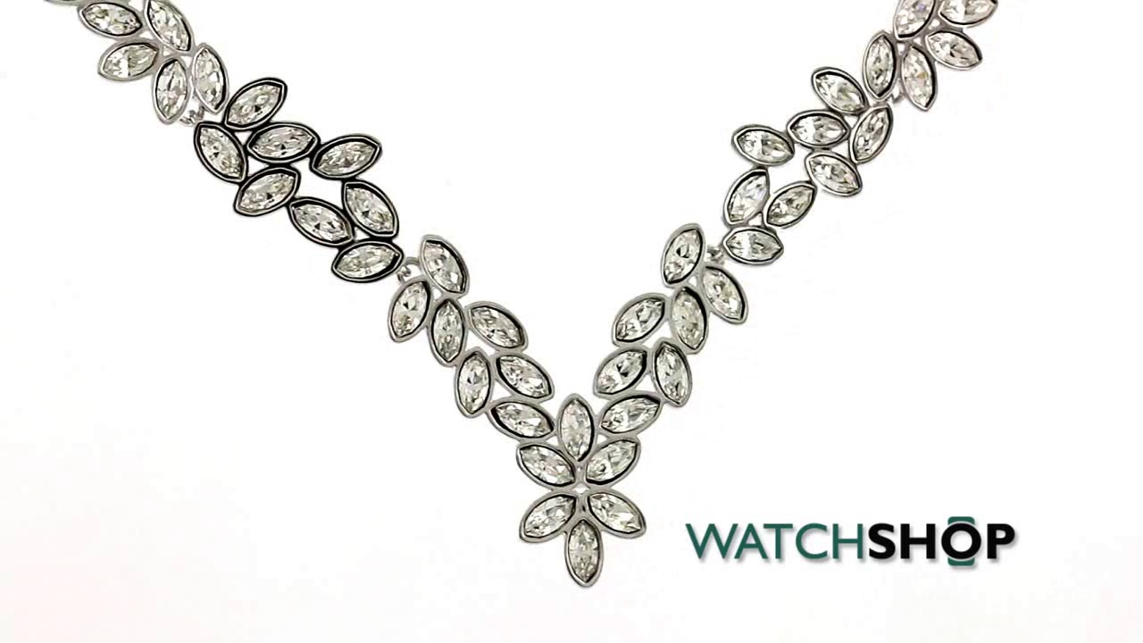 681e1eb663d Swarovski Jewellery Ladies' Stainless Steel Diapason Necklace (5184273)