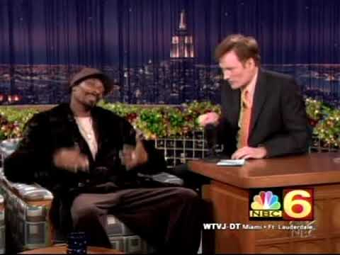 Conan O'Brien Snoop Dogg 12/30/04