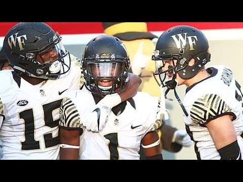 Tabari Hines - Official Wake Forest Highlights HD - YouTube