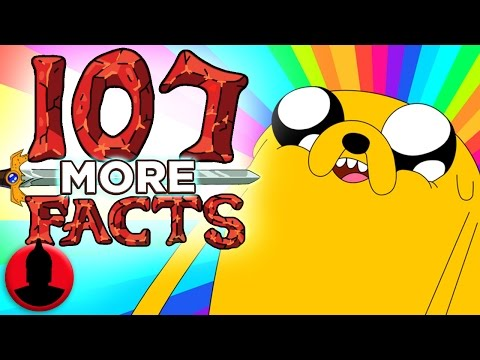 107 MORE Adventure Time Facts - (ToonedUp #102) @ChannelFred