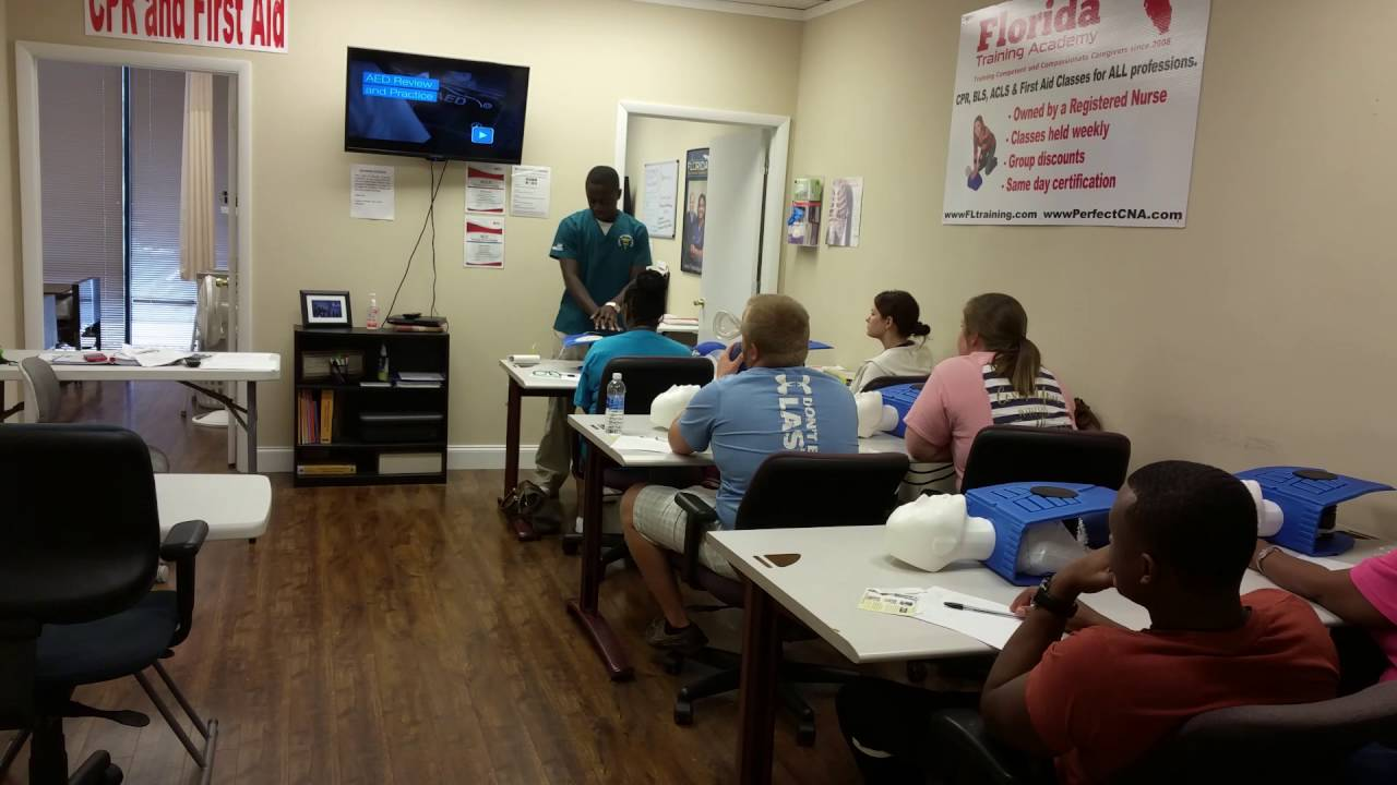 Summer Intern Teaching First Cpr Bls Class Youtube