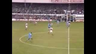 Ian Wright Goal Arsenal 3 Coventry City 0 Premier League 7 11 92