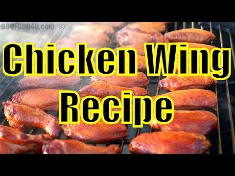 Smoked Fried Chicken Wings + Blue Cheese Dip + Sauce Recipe - BBQFOOD4U