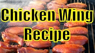 Smoked Fried Chicken Wings + Blue Cheese Dip + Sauce Recipe