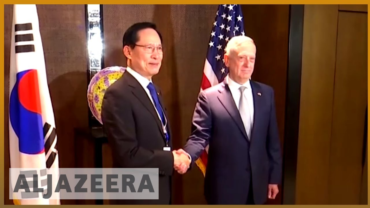 North Korea, China on the agenda of security summit in Singapore | Al Jazeera English