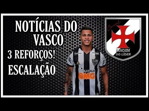 3 REFORÇOS PARA O VASCO | ESCALAÇÃO | BENITEZ | R.GRAÇA | NETO BORGES | Notícias do Vasco