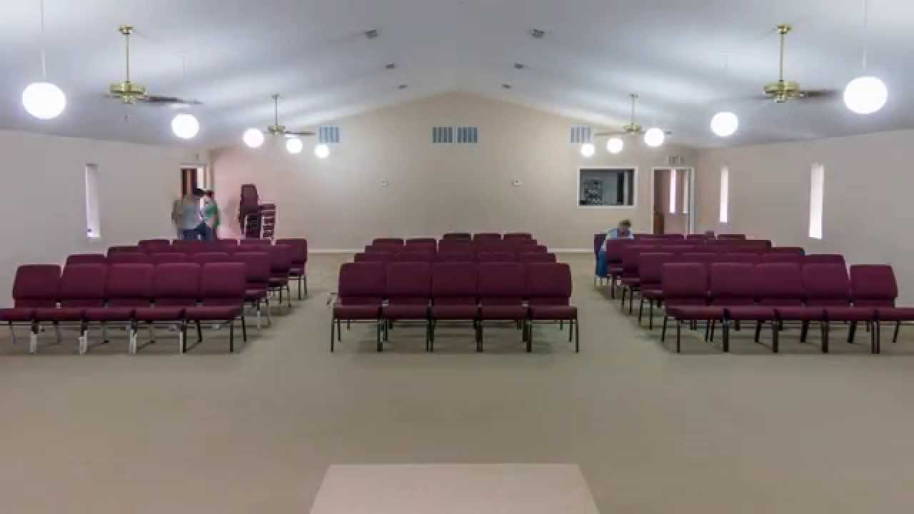 New Church Chairs Timelapse  YouTube