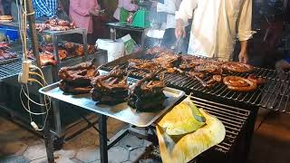 Cambodia Street Food 2019 | Head Pig and Duck grill