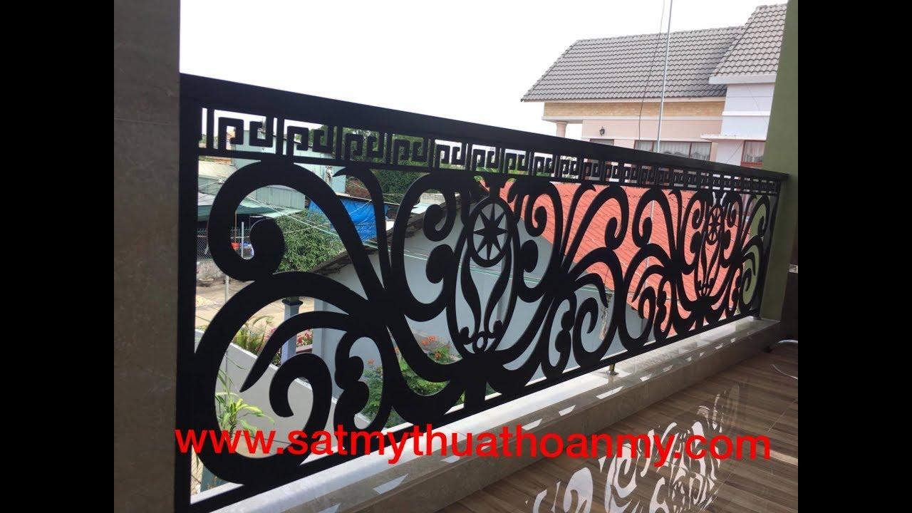 ban công sắt cnc Mr.Trí  0909064275 - YouTube