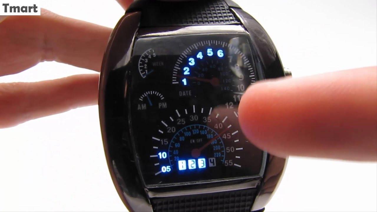 armbanduhr tachometer