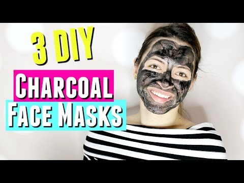 Activated charcoal face mask without bentonite clay