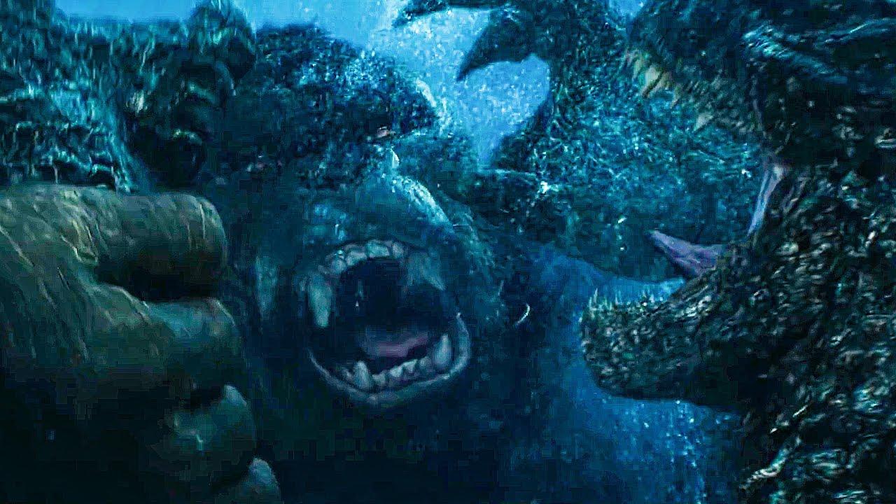 Download Godzilla Meets Kong Fight Scene - GODZILLA VS KONG (2021) Movie Clip