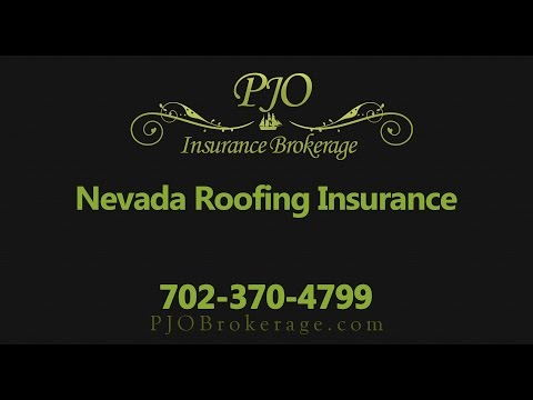 Nevada Roofing Insurance | PJO Insurance Brokerage