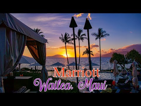 Marriott Wailea, Maui tour From the ground & air