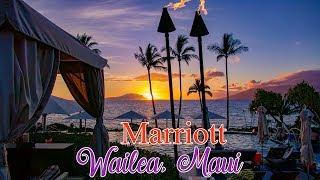 Marriott Wailea, Maui tour From the ground & air