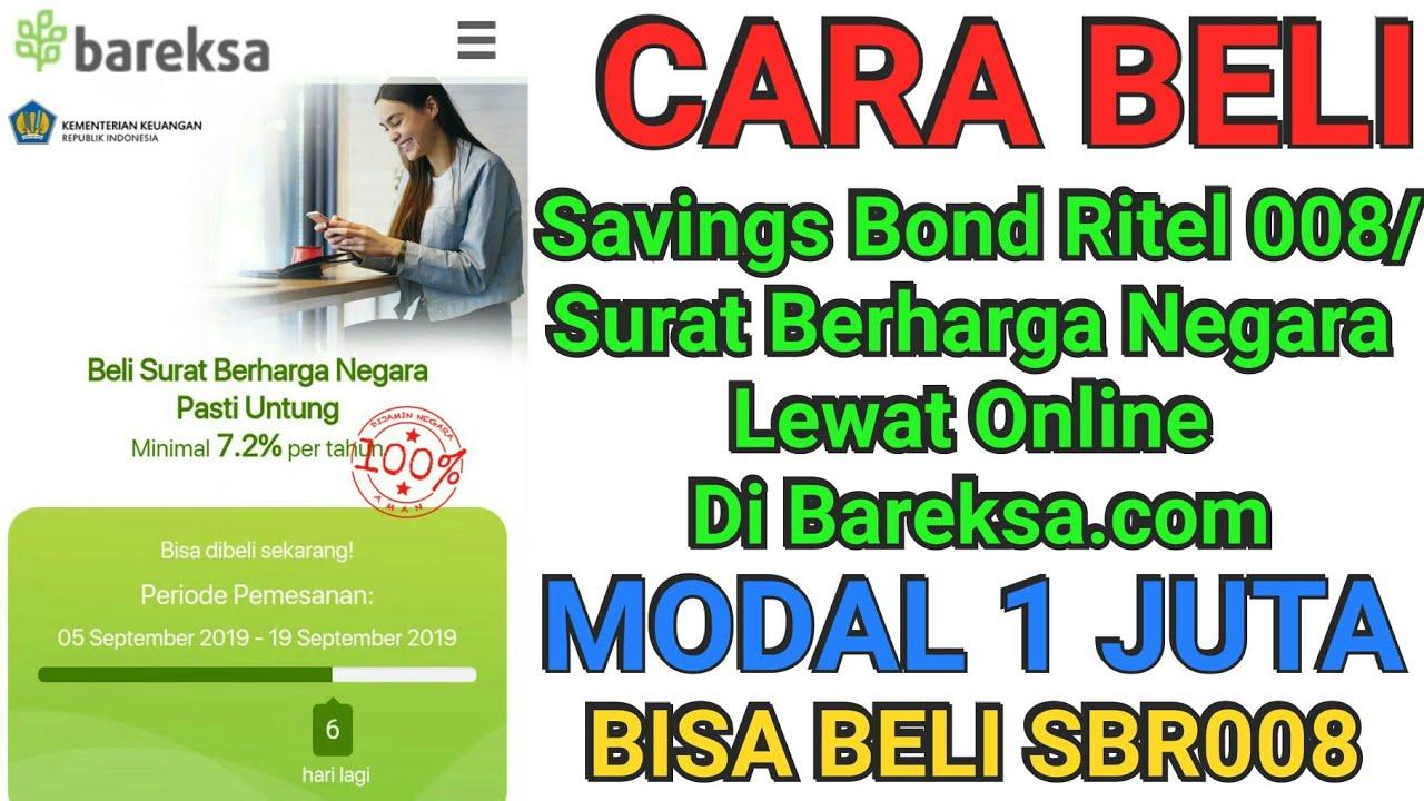 Cara Membeli Savings Bond Ritel 008 Surat Berharga Negara Lewat Online Di Bareksacom
