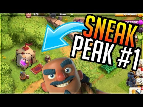 MARCH FULL UPDATE SNEAK PEAK! THE TRADER,BALANCING AND MORE CLASH OF CLANS MARCH UPDATE 2018