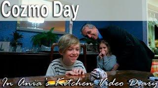 Ania's Video Diary - Cozmo Day - Daily Vlog