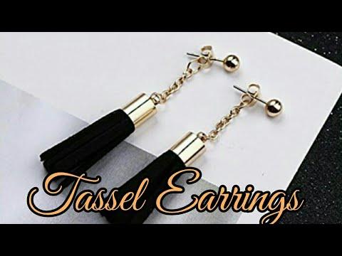 Tassel Earrings How To Make it Easy ?