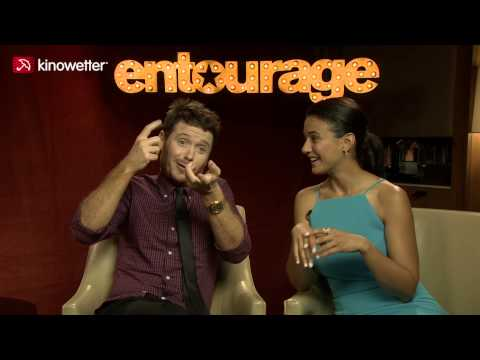 Interview Kevin Connolly, Emmanuelle Chriqui ENTOURAGE