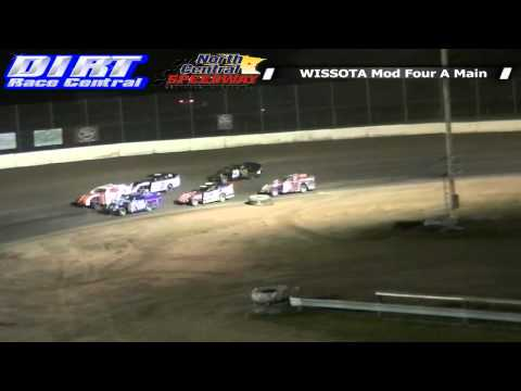 North Central Speedway 7 26 14 WISSOTA Mod Four Races