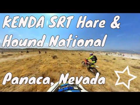 Dirtbike Race  KENDA SRT Hare And Hound Panaca Nevada MRAN Race