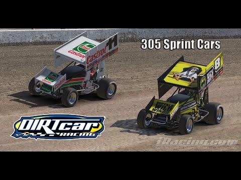 iRacing Dirt 305 Sprints Cars: Twin 20s at Volusia Speedway