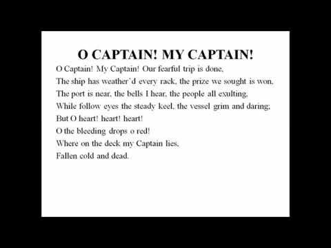captain my captain poem