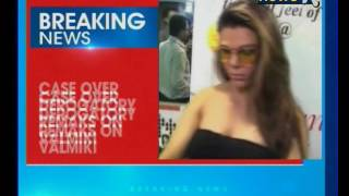 actor rakhi sawant arrested by punjab police for making derogatory remarks against sage valmiki