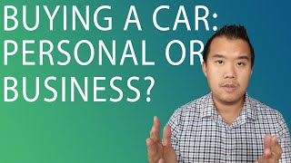 Should You Register Your Car Under Your Business?