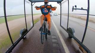 Wheelie Across America -  Arizona Hail Storm