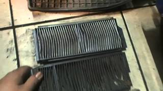 Mazda 3 cabin filter /Мазда 3 салонный фильтр.Замена