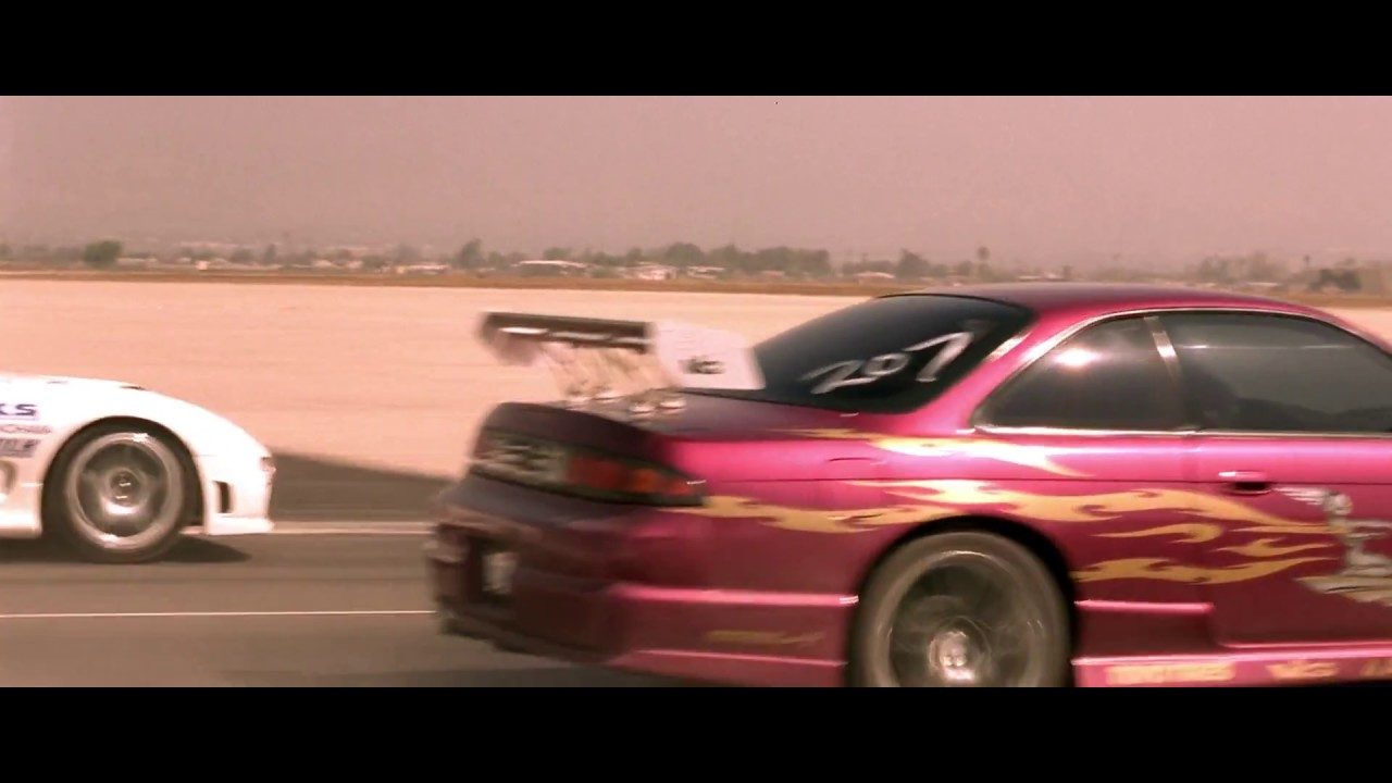 FAST and FURIOUS - Race Wars / Letty Race (240SX vs RX7) #1080HD