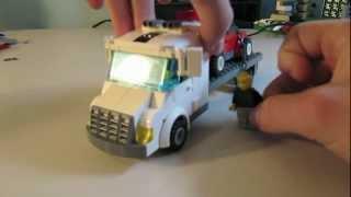 Custom LEGO Vehicle: Flatbed Truck thumbnail