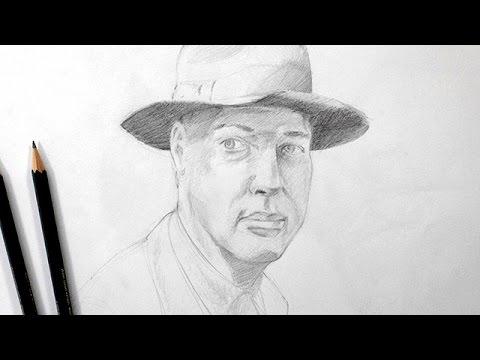 Dessiner Un Portrait Technique Rapide